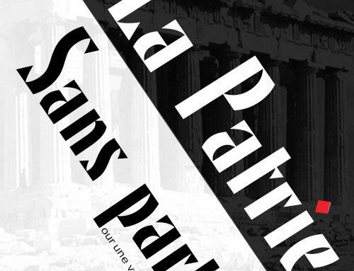 La patrie sans partis – Pour une véritable démocratie