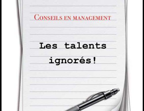 Les talents ignorés